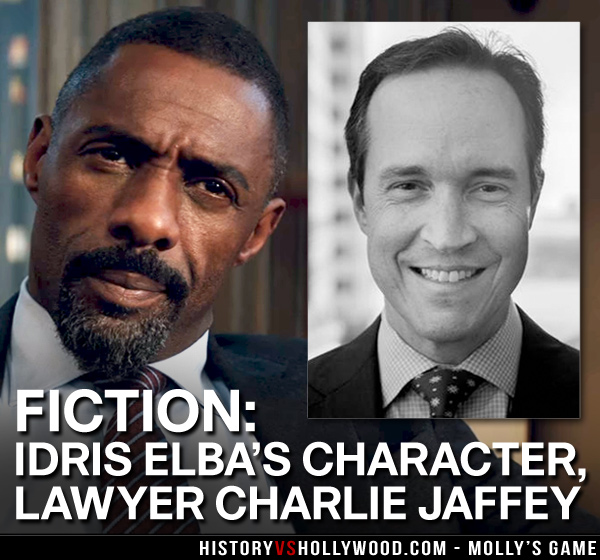 Idris is Charlie Jaffey